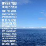 Thankful Thursday: Of Gratitude + The Present Moment