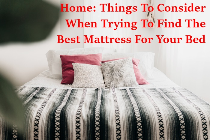 home, home and garden, tips and tricks, home furnishings, sleeping matters, homemaking, home improvement, homemaking tips