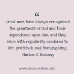 Thankful Thursday: Of Gratitude + God