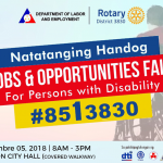Mum For A Cause: Special Job Opportunities Fair Set For PWDs