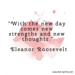 Mum Inspires: New Strengths With Each New Morning
