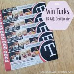 Mumwrites Giveaways: Win Php1K  Worth of Turks GCs!