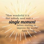 Mum Inspires: Let Us Improve The World