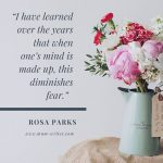 Mum Inspires: On Diminishing Fear